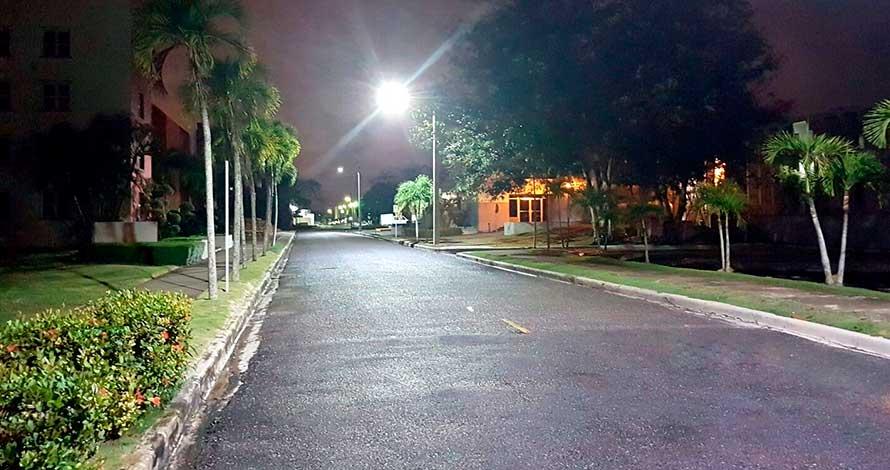 Iluminación LED Vial